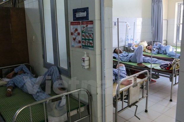 Hanoi hospitals overload as dengue fever breaks out hinh anh 1