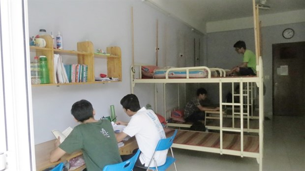 Dorms offer cheap rooms for poor students hinh anh 1