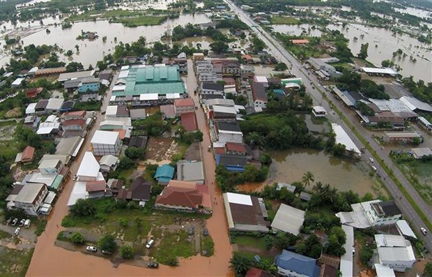 Floods wreak havoc in Thailand hinh anh 1