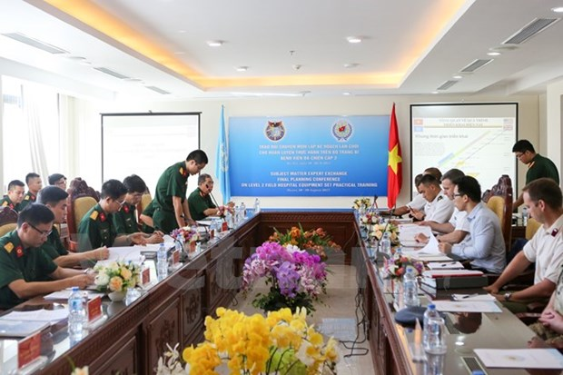 Vietnam steps up preparations for level-2 field hospital deployment hinh anh 1