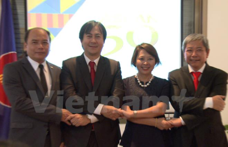 ASEAN's 50th birthday marked worldwide hinh anh 1
