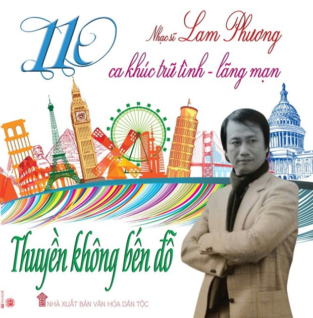 Overseas Vietnamese composer's book of songs released hinh anh 1