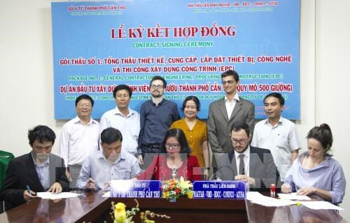 Can Tho oncology hospital building contract signed hinh anh 1