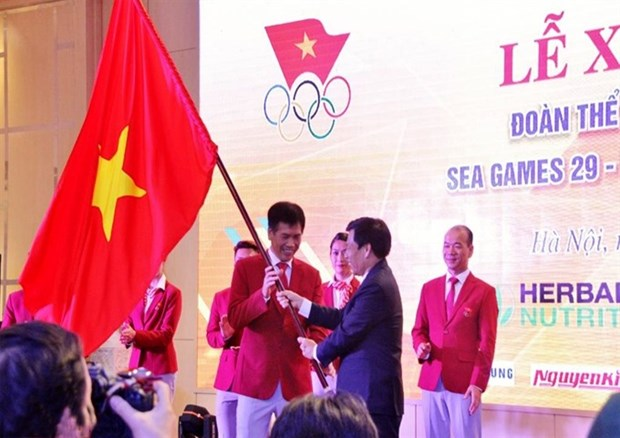 Athletes sent off for SEA Games glory hinh anh 1