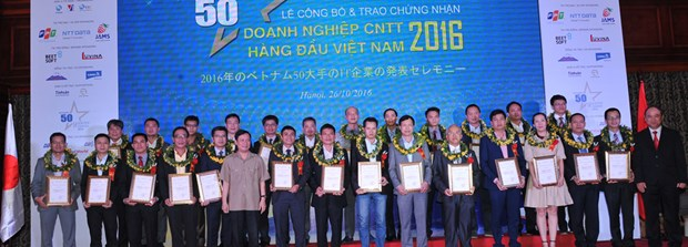 VINASA's programme honours top 50 IT companies hinh anh 1
