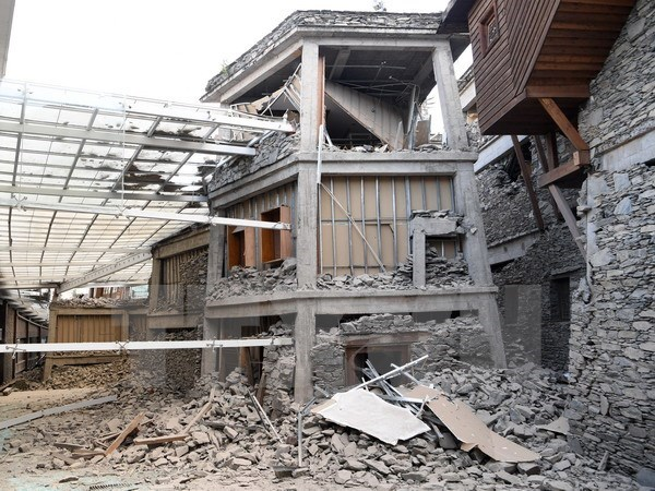 Sympathies sent to China on heavy losses in Sichuan earthquake hinh anh 1