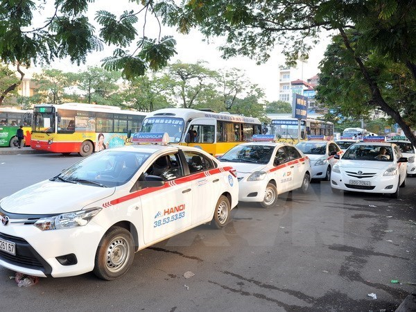 Capital's taxis may all have same colour in 2025 hinh anh 1