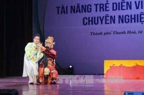 National competition seeks talents for traditional arts hinh anh 1