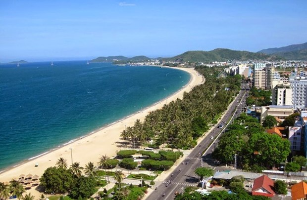 61 entries submitted to Nha Trang Sea Festival logo contest hinh anh 1