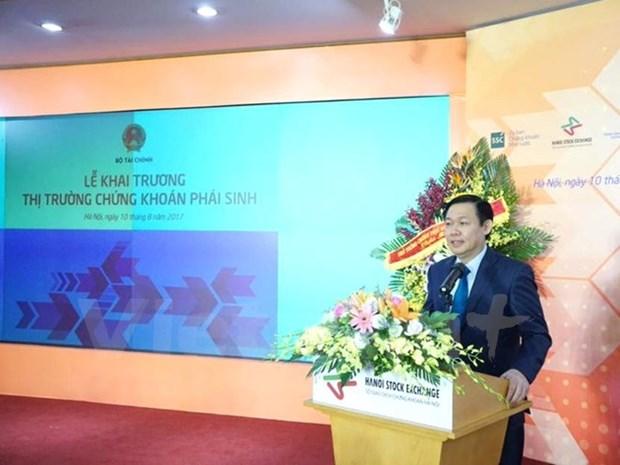 Vietnam's derivatives market officially runs hinh anh 1