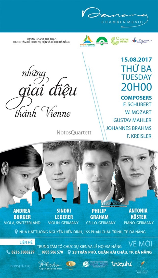 Notos Quartet to perform in Da Nang hinh anh 1