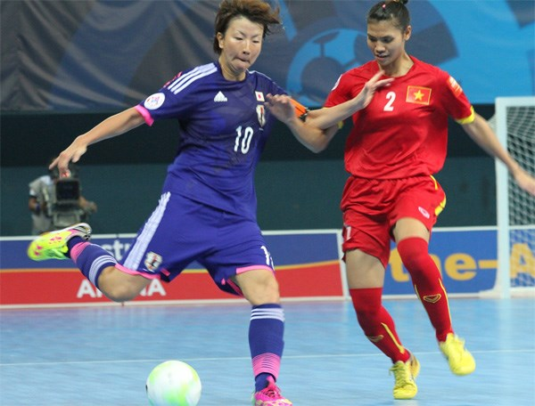 SEA Games 29: Vietnamese Futsal dreams of changing medal colour hinh anh 1