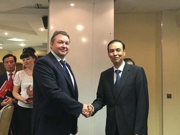 Hanoi promotes ties with capitals of Belarus, Latvia, Croatia hinh anh 1