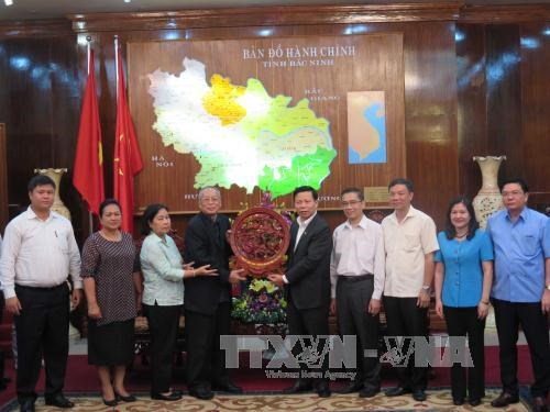 Cambodian People's Party delegation visits Bac Ninh hinh anh 1