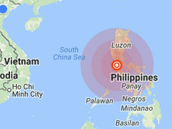 Strong earthquake hits north Philippines hinh anh 1