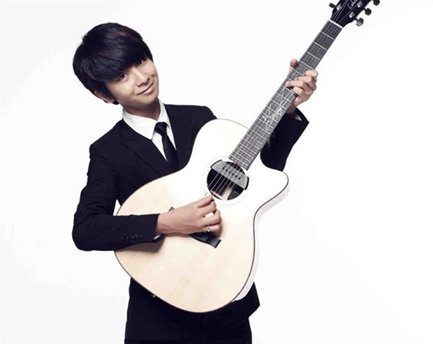 Korean guitarist to perform in Vietnam hinh anh 1