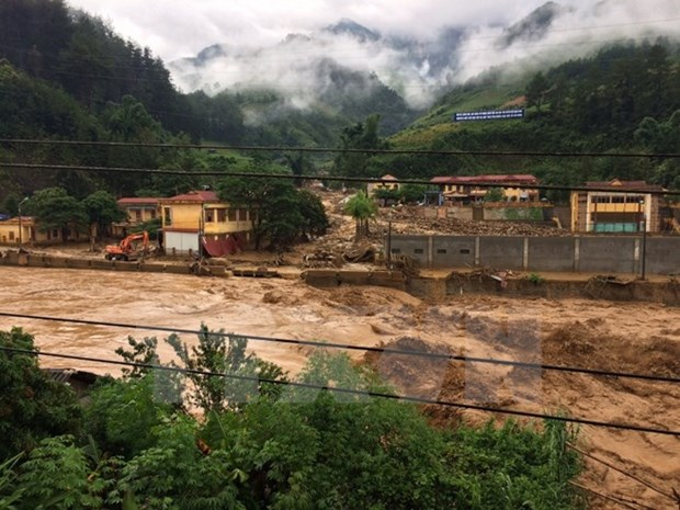 Northern localities asked to brace for torrential rain, floods hinh anh 1