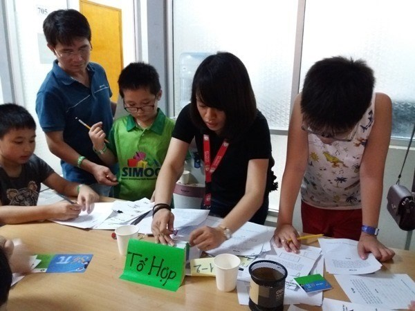 Open mathematics festival launched in Hanoi hinh anh 1