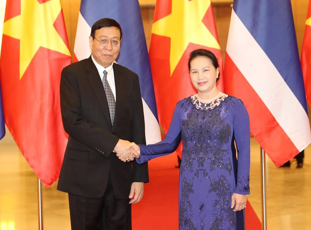 Vietnam, Thailand should keep mutual support at int'l parliamentary forums hinh anh 1