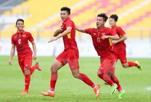 SEA Games 29: U22 Vietnam beat Timor-Leste 4-0 hinh anh 1