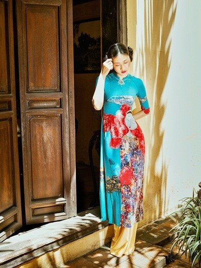 Ao dai to be displayed in New York hinh anh 1