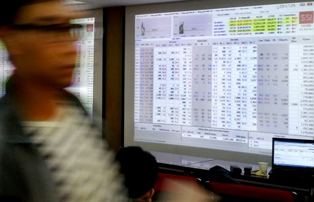 Market rebounds on large-caps hinh anh 1