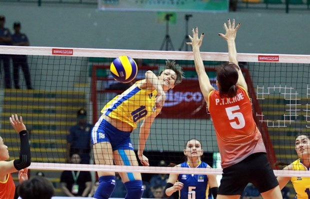 VN women lose two volleyball matches hinh anh 1