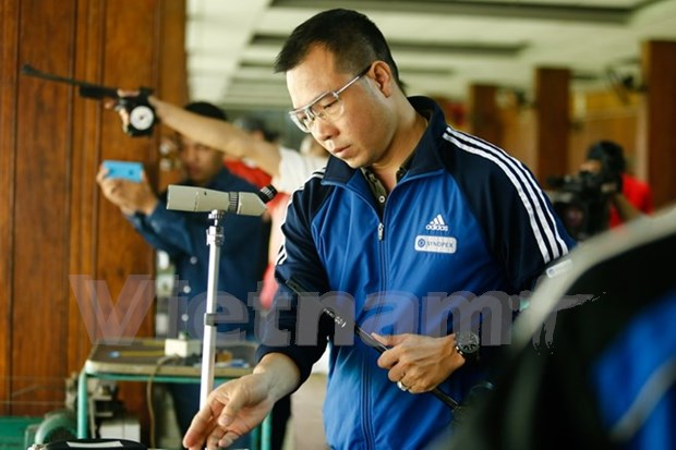 SEA Games 29: Vietnamese shooters aim for three golds hinh anh 1