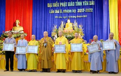 Yen Bai's Buddhist Sangha builds national great unity hinh anh 1