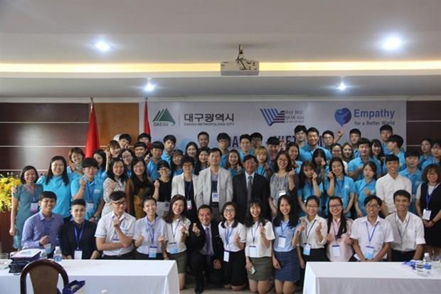 Vietnam-RoK student exchange programme begins hinh anh 1