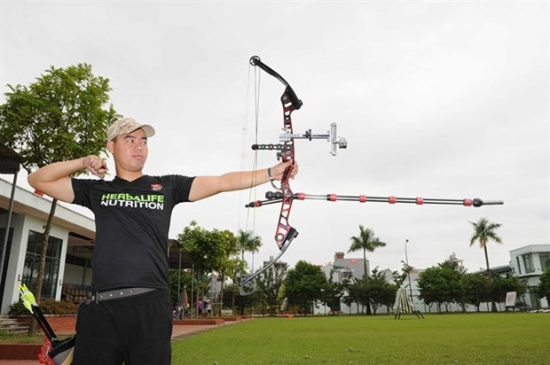 SEA Games 29: Archery team aim for two golds hinh anh 1
