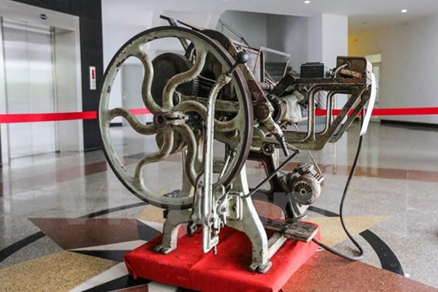 Vietnam Press Museum set up hinh anh 1