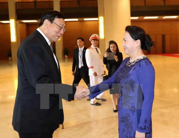 Top Thai legislator wraps up official visit to Vietnam hinh anh 1