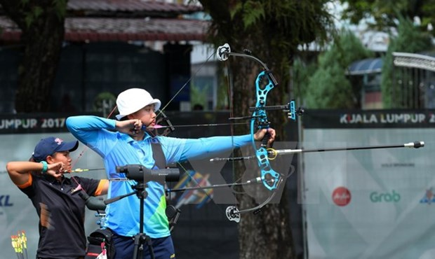 SEA Games 29: Archer wins first medal for Vietnam hinh anh 1