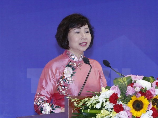 Ho Thi Kim Thoa dismissed from position of deputy trade minister hinh anh 1