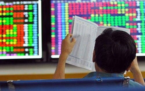 Market down on fragile confidence hinh anh 1