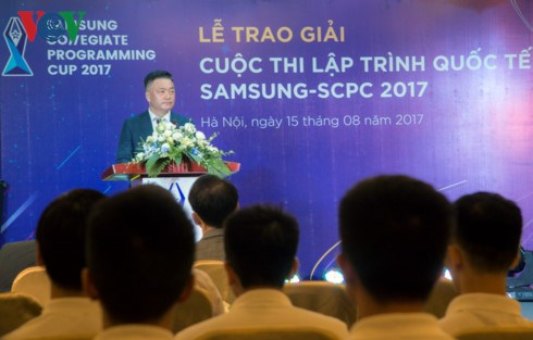 Vietnamese students compete in international IT finals hinh anh 1
