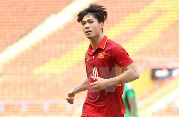 SEA Games 29: U22 Vietnam thrash Cambodia 4-1 hinh anh 1
