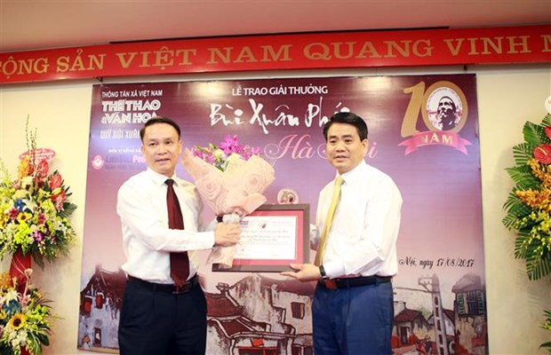 Bui Xuan Phai – For the Love of Hanoi Awards mark 10th edition hinh anh 1
