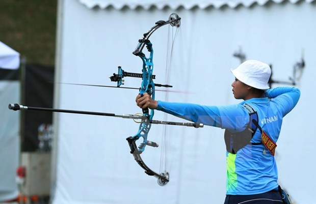 SEA Games 29: Second medal in archery for Vietnam hinh anh 1