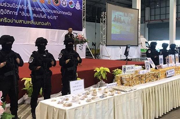 Thailand seizes over four million drug pills hinh anh 1