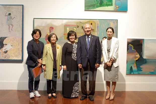 Art exhibition celebrates Vietnam – RoK ties hinh anh 1