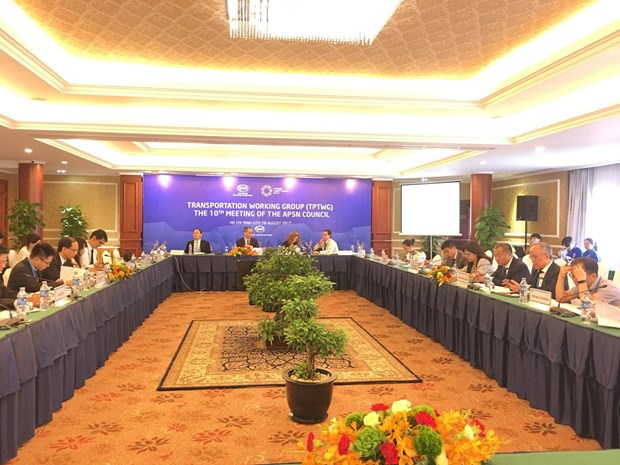APEC economies discuss port services issues hinh anh 1