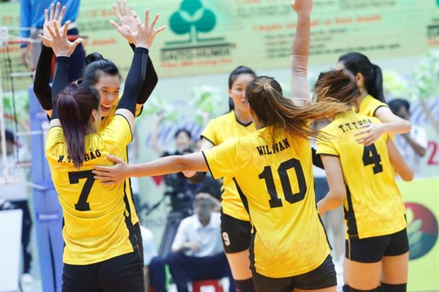 Vietnam fifth in Asian volleyball event hinh anh 1