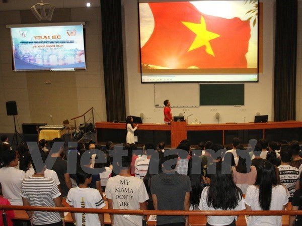 Camp for Vietnamese youths in Europe opens in Czech Republic hinh anh 1