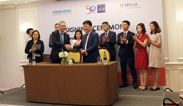 ADB increases trade finance to 75 million USD for TPBank hinh anh 1