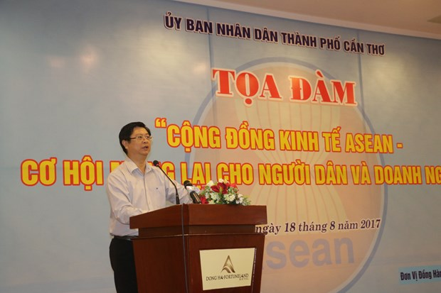 Can Tho wants to capitalise on economic chances in AEC hinh anh 1