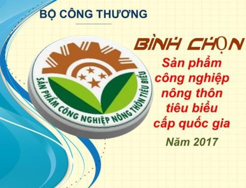 Prominent industrial products to be honoured hinh anh 1