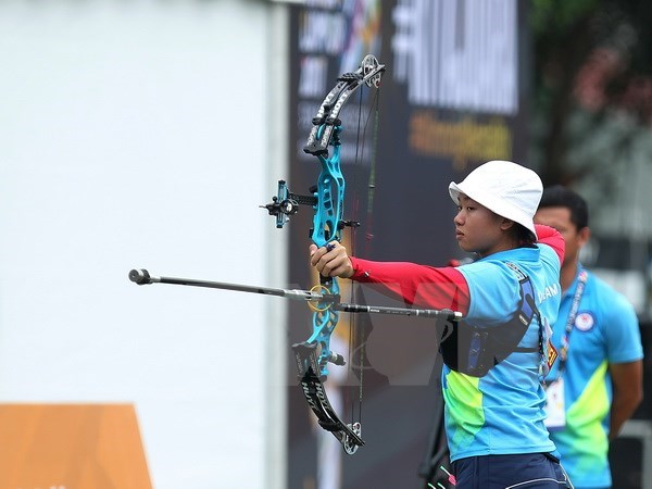 SEA Games 29: Vietnam's archery pockets bronze medal hinh anh 1