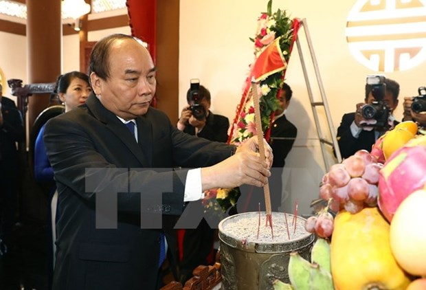 PM Nguyen Xuan Phuc's activities in Thailand hinh anh 1